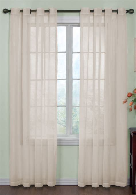 sheer panel curtains curtain fresh arm hammer sheer grommet curtains
