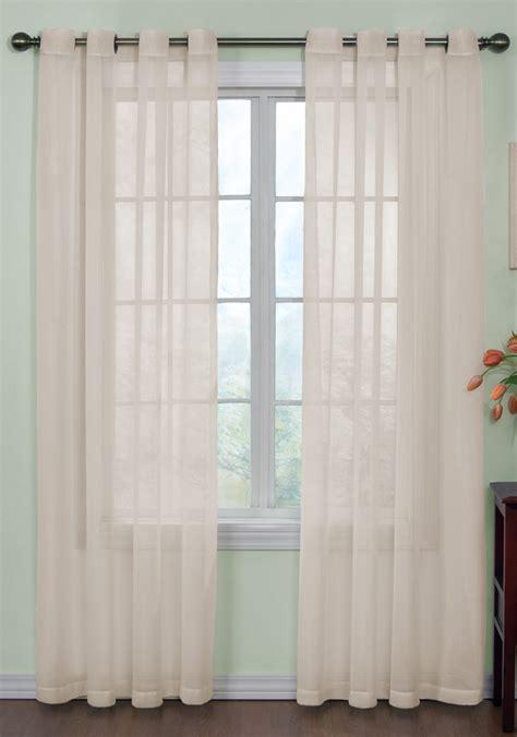 Sheer Panel Curtains Curtain Fresh Arm Hammer Sheer Grommet Curtains View All Curtains