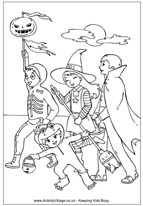 halloween coloring pages trick or treat 19 best sugar skull adult coloring pages images on
