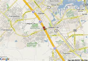 map of 8 motel league city pasadena area league city