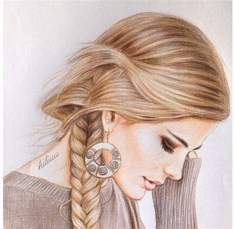 pretty hairstyles drawing hairstyles cute draw google претрага hair draw