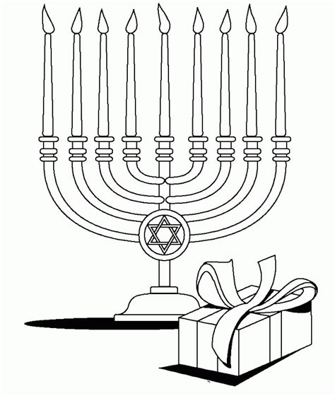 menorah coloring page free free hanukkah coloring pages coloring home