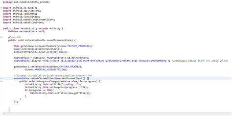 belajar membuat qr code membuat qr code dengan menggunakan google chart api