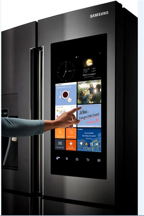 Samsung Door Refrigerator With Wifi by Samsung Announces The Rf22k9581s And Rf28k9580s Series 36