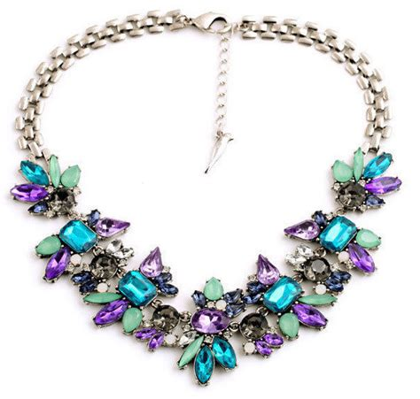Pendant Statement Necklace Earrings Accessories luxury created flower pendants statement necklace 2015 fashion jewelry accessories