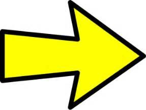 color arrow arrow outline yellow right signs symbol arrows arrows