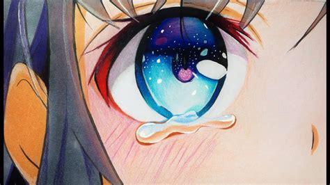 draw anime eyes  tears step  step
