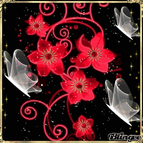 flashing flowers picture 109292497 blingee com
