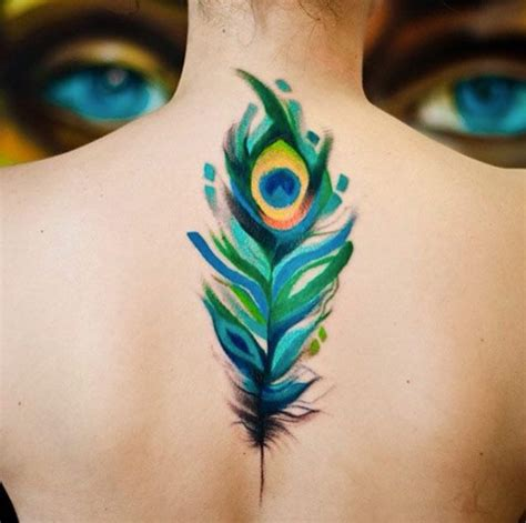 peacock feathers tattoo designs best 25 peacock feather ideas on