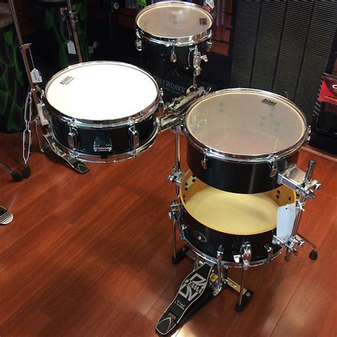 Tama Bass Drum For Coctail tama silverstar quot cocktail jam quot portable kit floor model