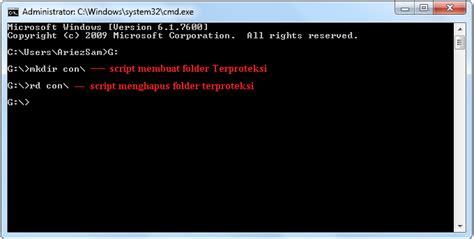 cara membuat virus yang tidak bisa dihapus cara membuat folder yang tidak dapat dihapus dengan