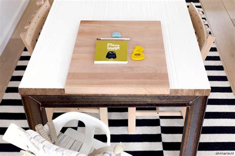 stokke kinderstoel tabletop diy tafelblad kinderstoel oh marie