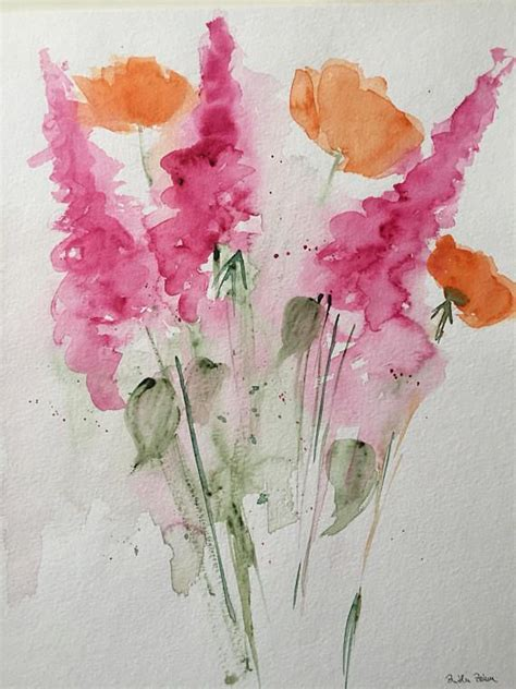 best 25 watercolor flowers tutorial ideas on watercolor flowers paint flowers and