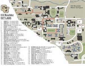 map of colorado college cu boulder map map2