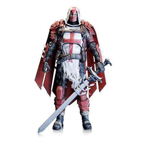 figure knights batman arkham azrael figure