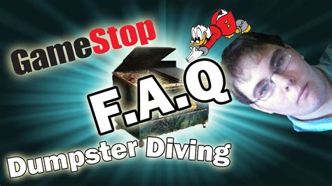 Dumpster Diving Faq Ran Prieur | gamestop dumpster diving quot faq quot youtube