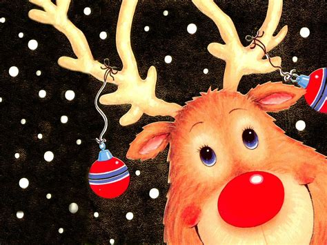 christmas wallpaper rudolph the red nosed reindeer free christmas rudolph the red nosed reindeer wallpaper