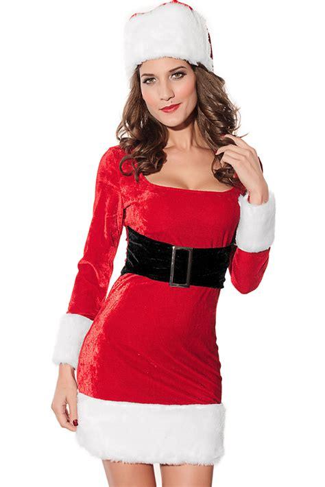 imagenes de santa claus para mujeres temporada de navidad 2pcs sra pap 225 noel traje de vestir