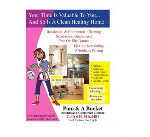 companies that clean out homes residential house cleaning business flyer exles