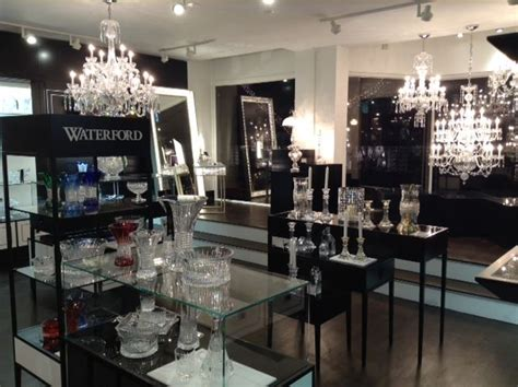 home design store boston displays and fixtures manufactured for the luxe brand of