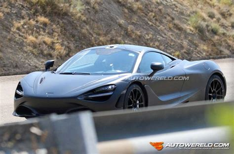 mclaren 650s news mclaren p14 650s replacement spotted with 3 8 litre v8
