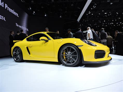 porsche cayman 2015 gt4 geneva 2015 porsche cayman gt4 debuts the truth about cars