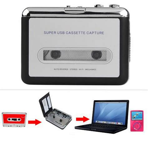da cassetta a cd usb audio cassette converter to mp3 cd player pc