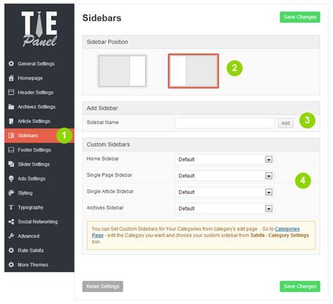 how to create a animated sidebar menu using html css how to create custom sidebars in jarida tielabs