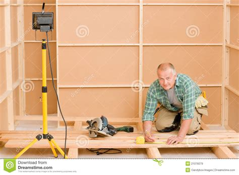 handyman home improvement wooden floor renovation royalty