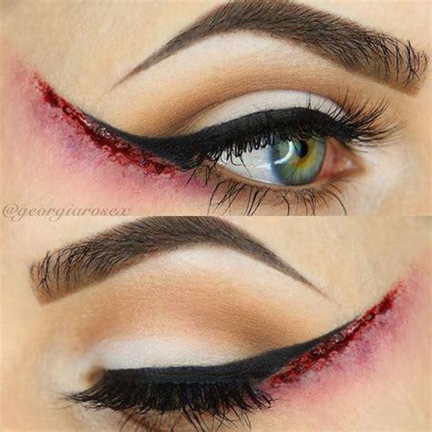 eyeliner ideas  halloween  girlshue
