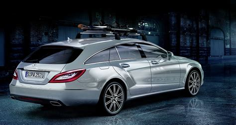 mercedes cls accessories mercedes unveils genuine accessories for cls shooting