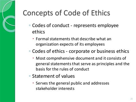 code of ethics exles google search codes of ethics