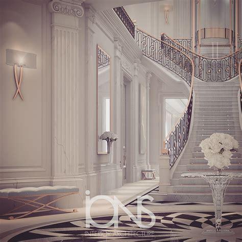 luxury entrance lobby design doha qatar  ions design