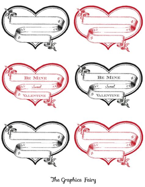 printable heart stickers free best photos of free printable labels free editable