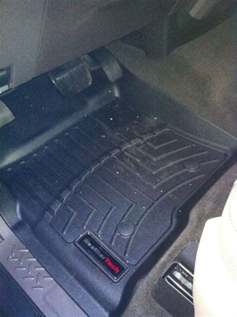 advice on weathertech for 2011 f150 ford f150 forum community of ford truck fans
