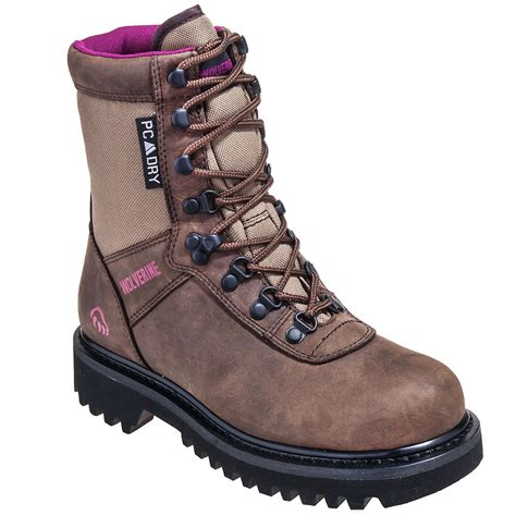 wolverine boots womens wolverine boots 30113 s big horn 8 quot insulated