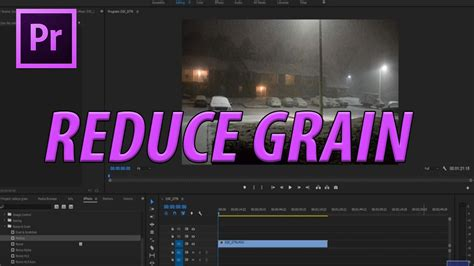 adobe premiere pro noise reduction how to reduce grain in premiere pro cc without plugins
