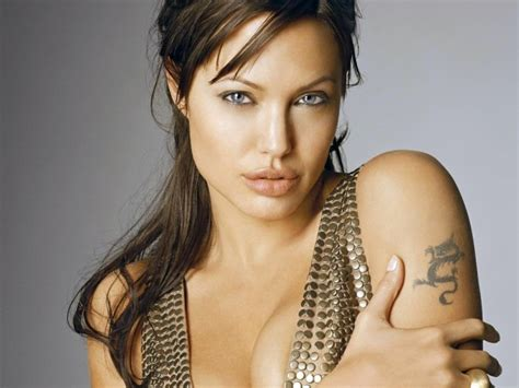angelina jolie tattoos and meanings sacred fearless designs meanings