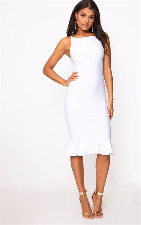White Dress white dress white dresses prettylittlething