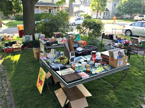Backyard On Sale Hosting A Yard Sale A How To Guide J Brkich