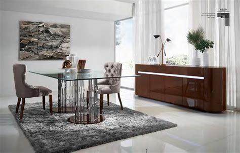centro de mesa de comedor moderno 7 mesas modernas de cristal protagonistas comedor