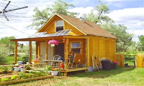 Small Home To Build Small Cabin Grid Living Grid Solarcabin