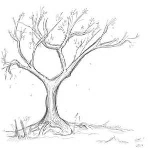 tree sketch by thenobody1990 on deviantart