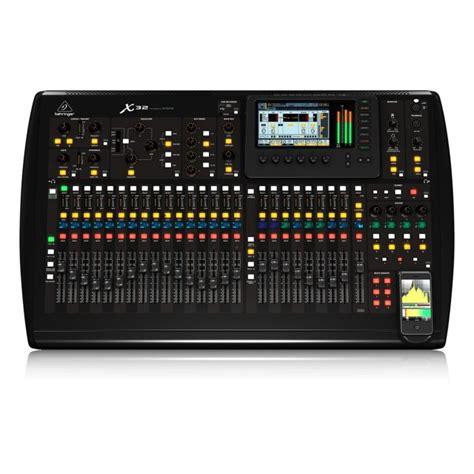 Mixer Alto 32 Channel behringer x32 digital 32 channel mixer console