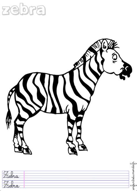 Coloriage Zebre 2 Coloriages Animaux De La Jungle En Coloriage Animaux Jungle Imprimer L
