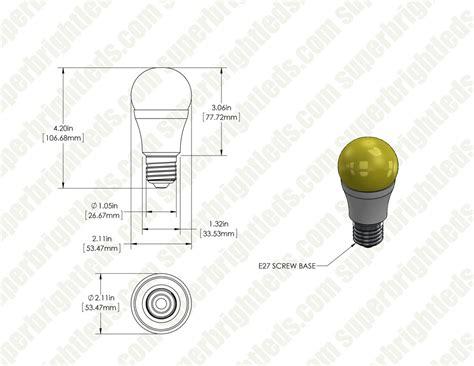 led lights 75 watt equivalent led bug light bulb a19 yellow 75 watt equivalent