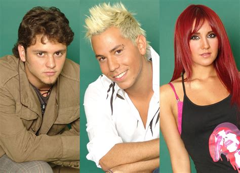 Dulce Outher Katun Cardi christian chavez attempt former rbd members dulce christopher uckermann react