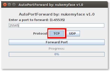 auto port forwarding tool all servers auto port forwarder minecraft tools