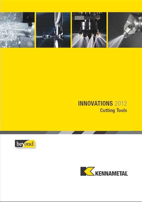 Kennametal Insert Chip Bubut Milling kennametal releases quot innovations 2012 quot catalog