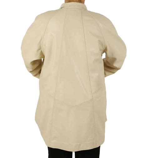 swing coats plus size plus size 22 24 3 4 length ivory leather swing coat from